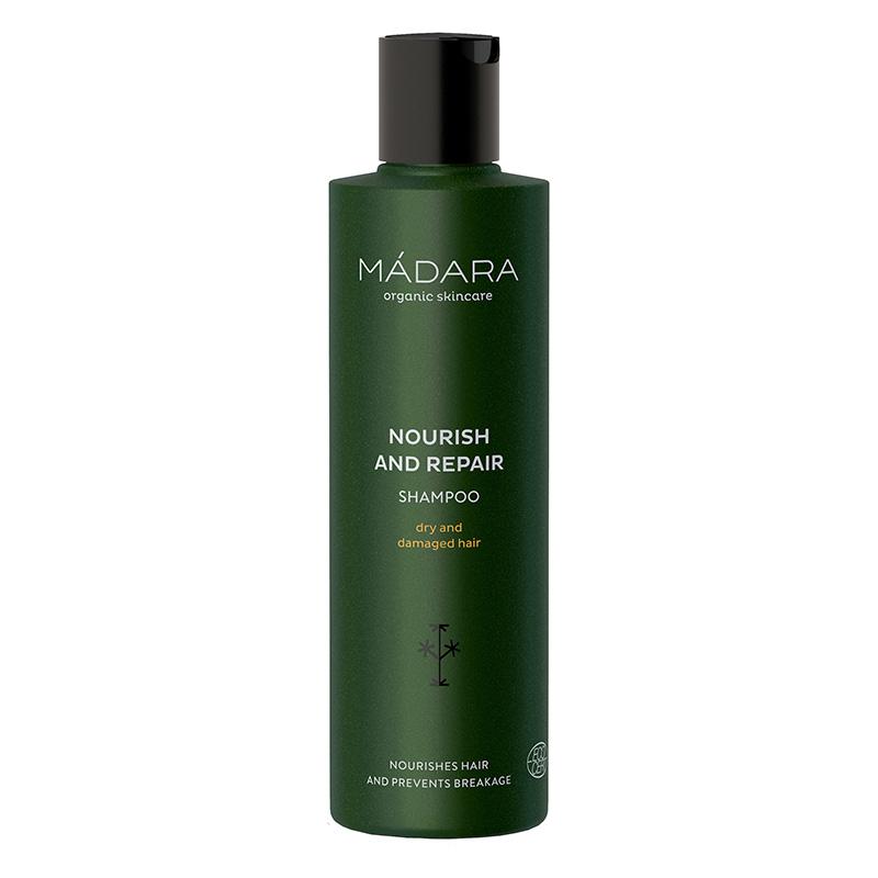 Sampon nutritiv si regenerant Nourish Repair pentru par uscat sau deteriorat (250 ml), Madara