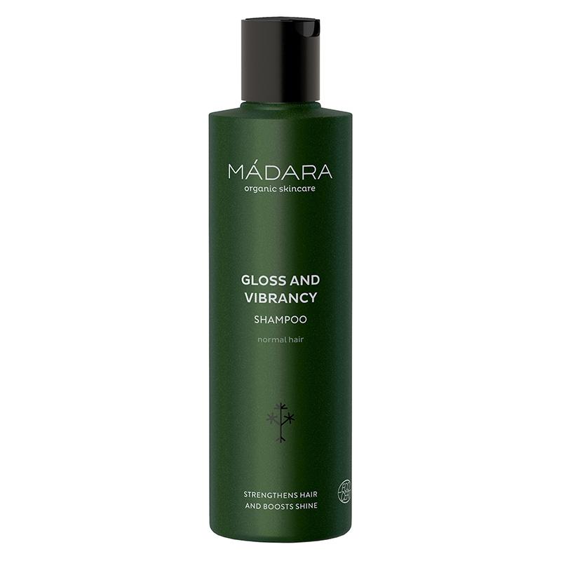Sampon pentru stralucire Gloss Vibrancy pentru par normal (250 ml), Madara