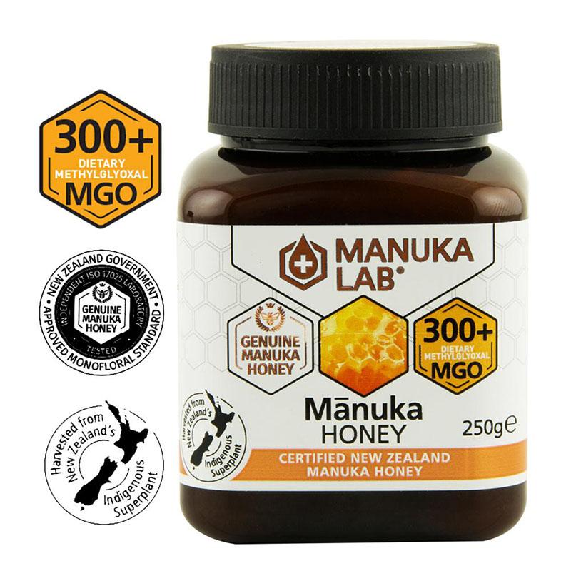 Miere de Manuka Lab MGO 300+ Noua Zeelanda (250 grame), New Zealand Manuka Group