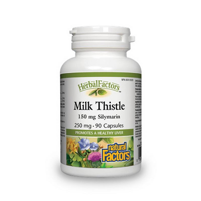 Milk Thistle din armurariu 250 mg (90 capsule), Natural Factors