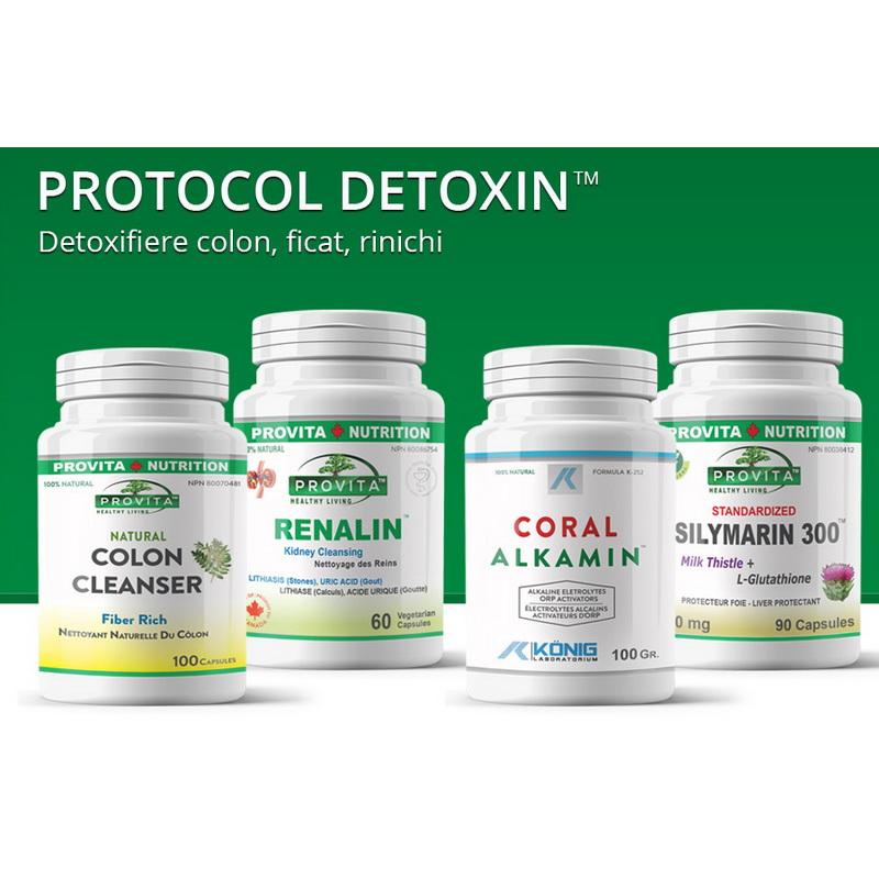 Protocol Detoxin detoxifiere colon de 30 zile, Provita Nutrition
