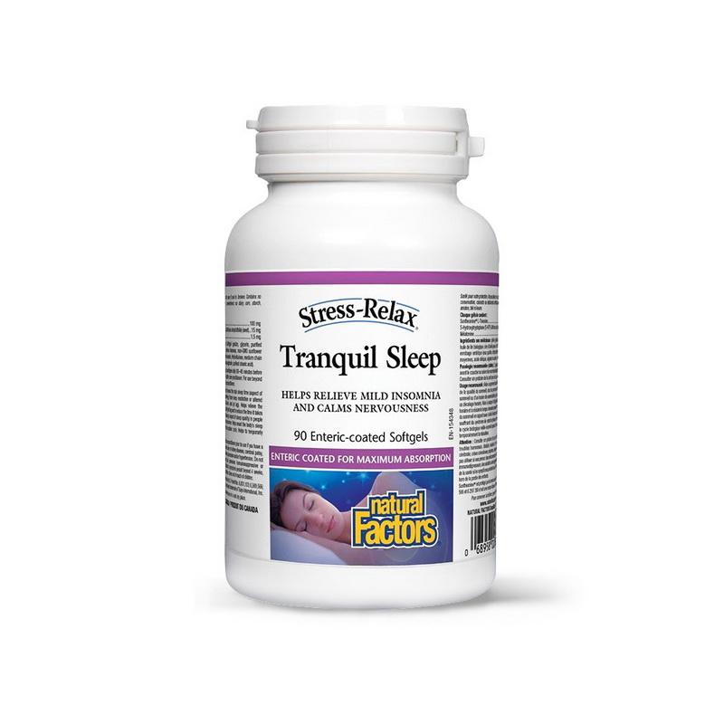 Tranquil Sleep Complex somn linistit (90 capsule), Natural Factors