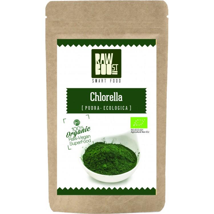 Chlorella pudra ecologica (250 gr), RawBoost