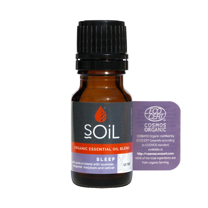 Somnifer Natural - Amestec uleiuri esentiale 100% Organic (10 ml), SOiL