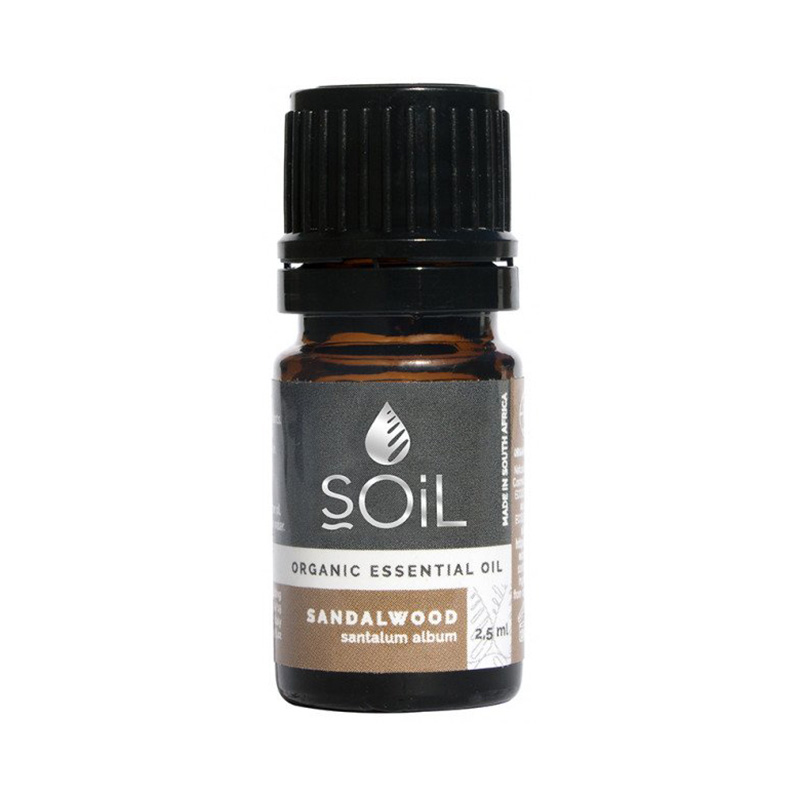 Ulei Esential Lemn de Santal 100% Organic (2,5 ml), SOiL