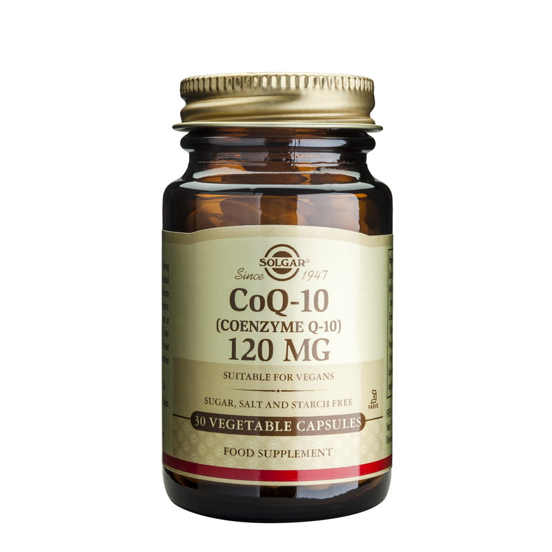 Coenzime Q-10 120mg (30 capsule), Solgar