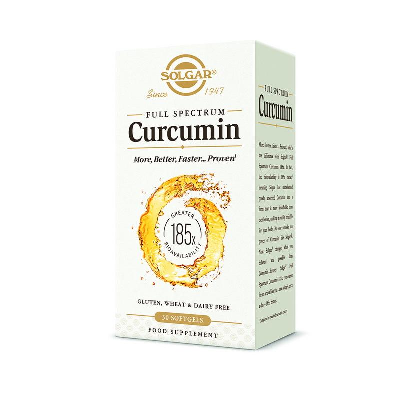 Curcumin Full Spectrum (30 capsule), Solgar