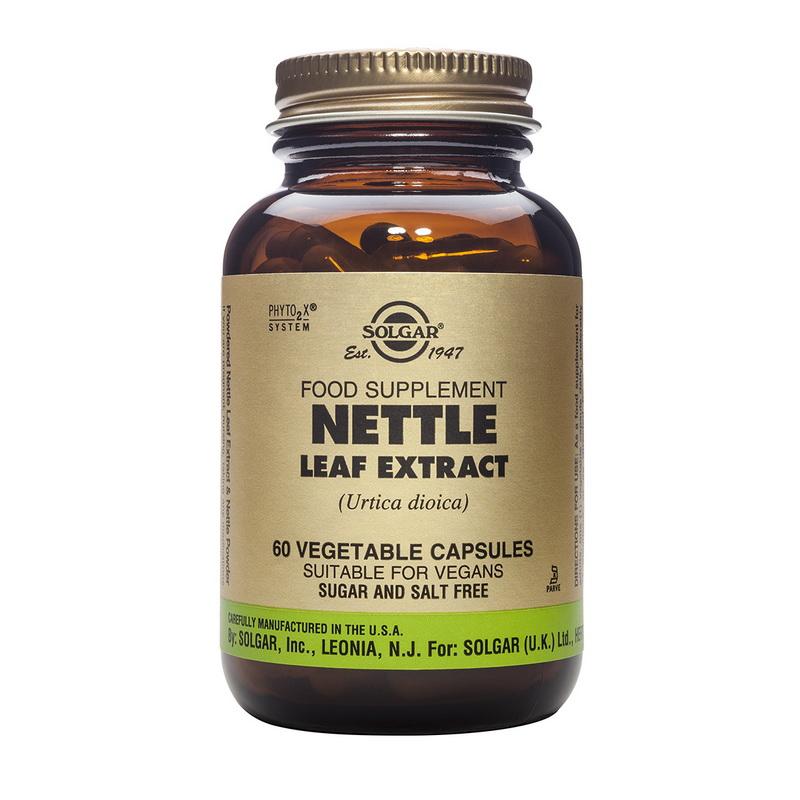 Nettle Leaf extract (60 capsule), Solgar
