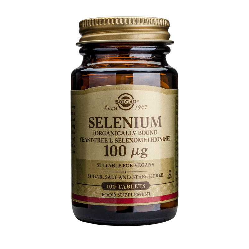 Selenium 100ug (100 tablete), Solgar