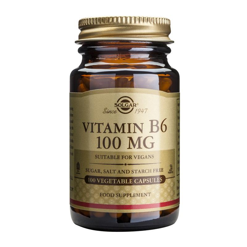 Vitamin B-6 100mg (100 capsule), Solgar