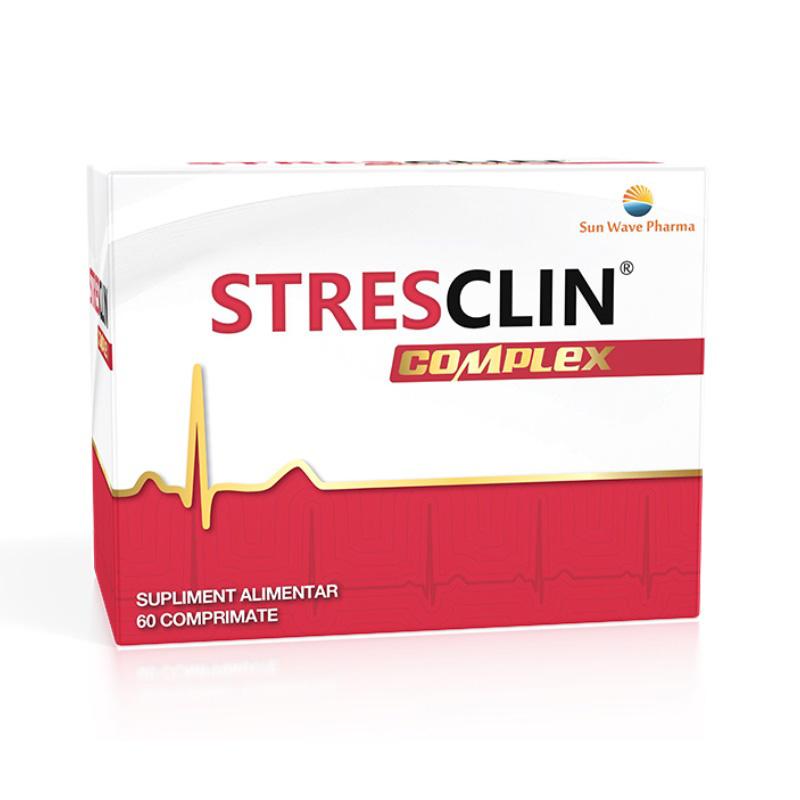 Stresclin Complex (60 comprimate), Sun Wave Pharma