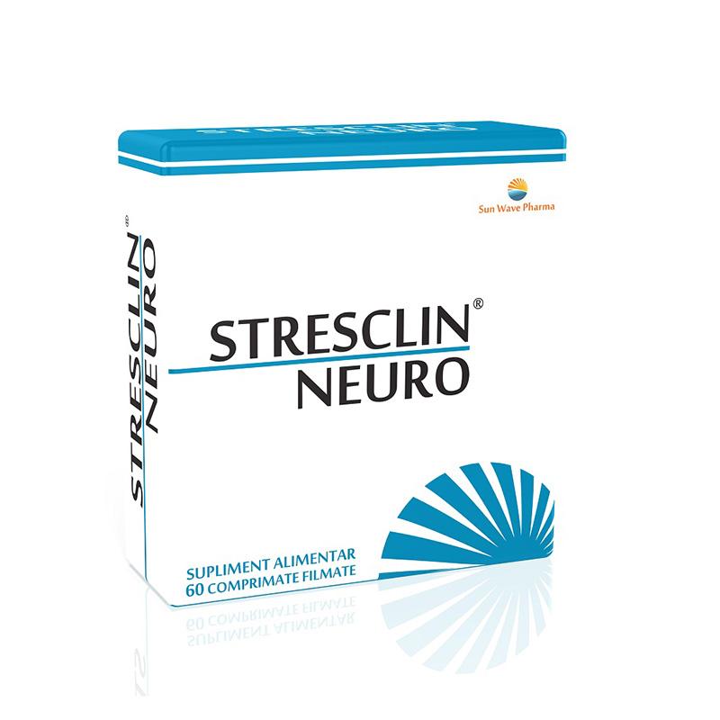 Stresclin Neuro (60 comprimate), Sun Wave Pharma