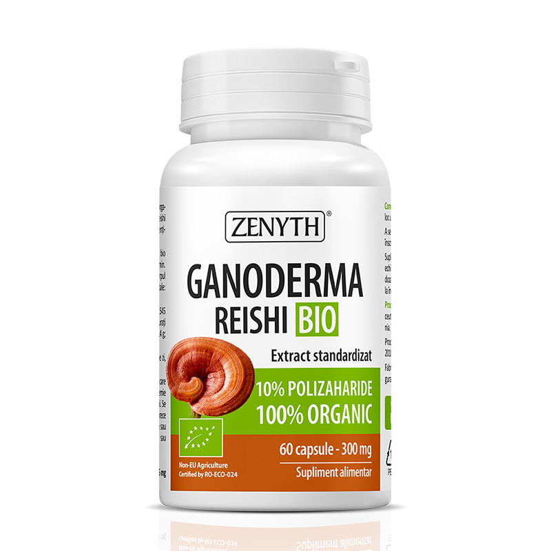 Ganoderma Bio 500 mg (60 capsule), Zenyth Pharmaceuticals