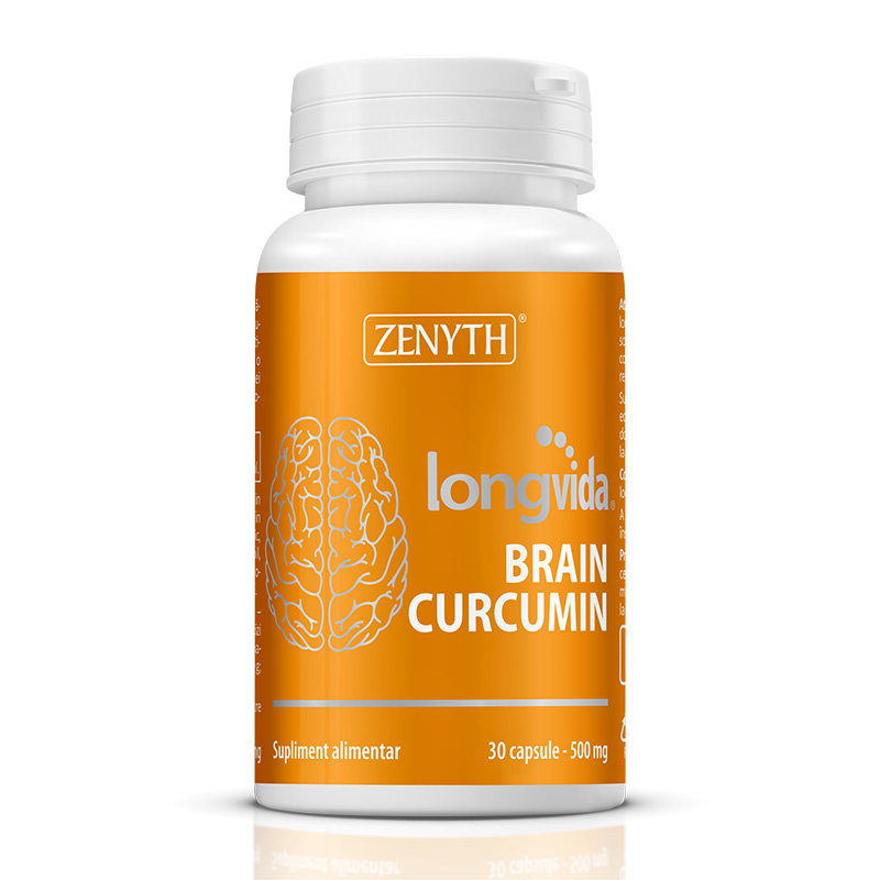 Longvida Brain Curcumin 500 mg (30 capsule), Zenyth Pharmaceuticals